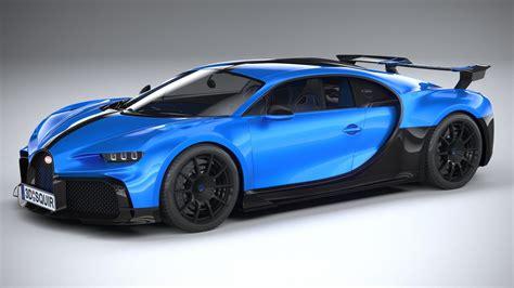 Bugatti chiron 2017 3d model. 3D Bugatti Chiron Pur Sport 2021 | CGTrader