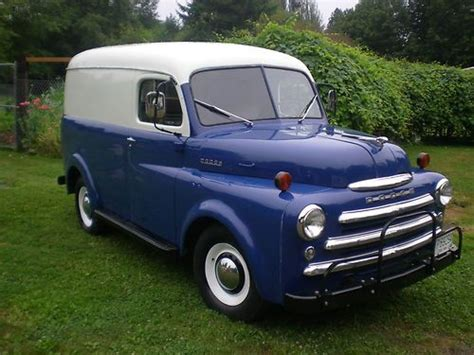 purchase   dodge panel truck  olympia