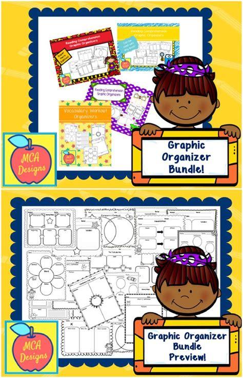 ultimate ela graphic organizer bundle  images