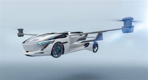 Aeromobil 5.0 Vtol Flying Car Concept Touches Down From