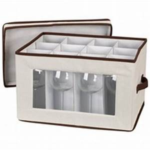 Boite De Rangement Pour Verres à Pied : rangement des verres rack verre et boite de rangement ~ Teatrodelosmanantiales.com Idées de Décoration