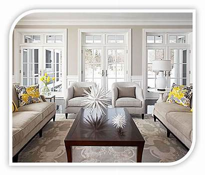Living Lighting Natural Windows Interior