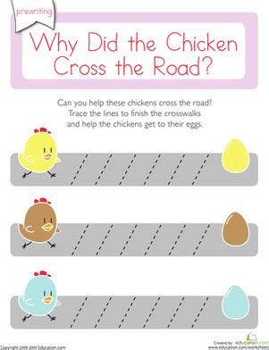 why did the chicken cross the road diagonal lines 1 762 | chicken cross road diagonal lines