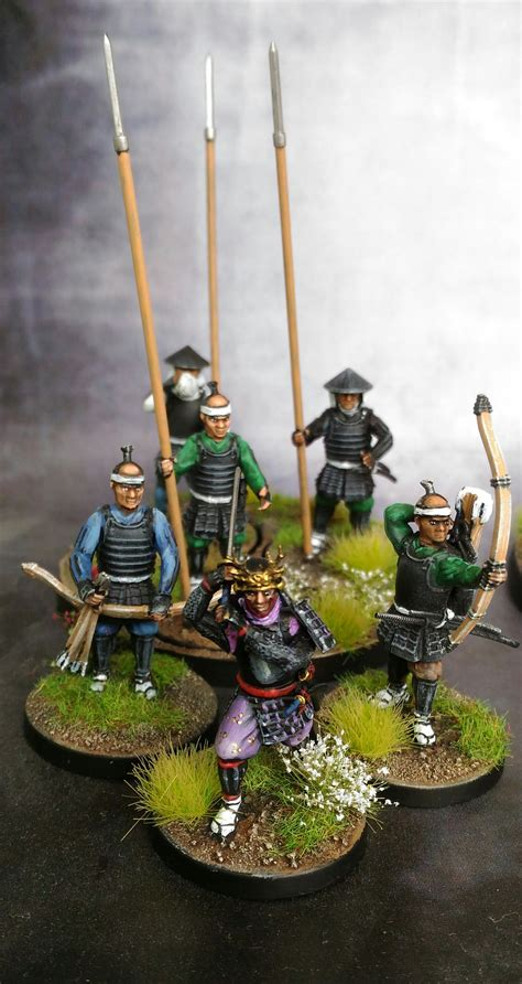 Warlord Games Test Honour Samurai Warband Show Off