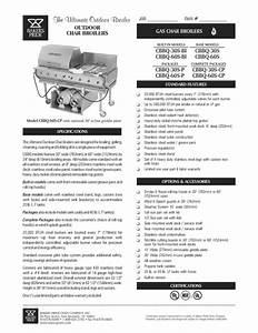 Cbbq-30s-bi Manuals