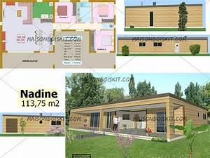 catalogue en ligne de modeles de maisons individuelles With plan maison en bois gratuit