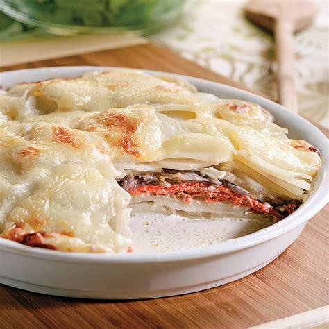 cuisine saumon tartiflette au saumon fumé recettes cuisine et