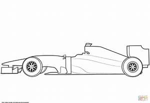blank formula 1 race car coloring page free printable With blank race car templates