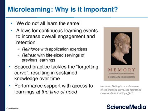 Microlearning For The Msl