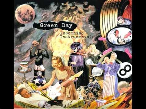 Green Day Insomniac Album Cover