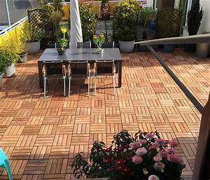 Trennwände Für Terrassen : holzfliesen f r garten balkon und terrasse im vergleich ~ Michelbontemps.com Haus und Dekorationen