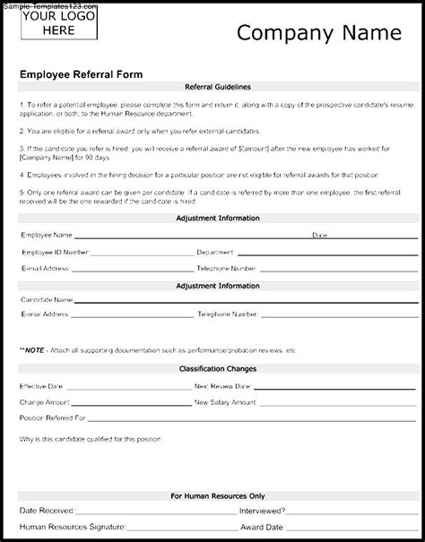 referral form templates emmamcintyrephotographycom