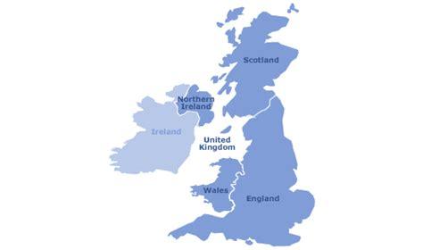 Carte Du Royaume Uni Sans Les Villes by Uk Carte