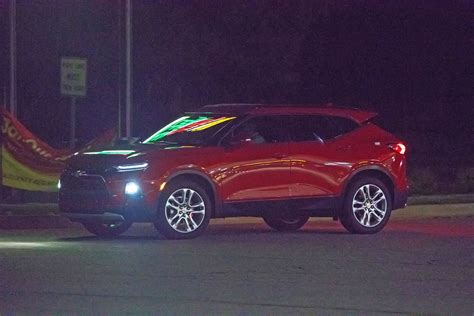 Chevy Blazer Prototype by 2019 Chevrolet Blazer Spied With Interior Gm Authority