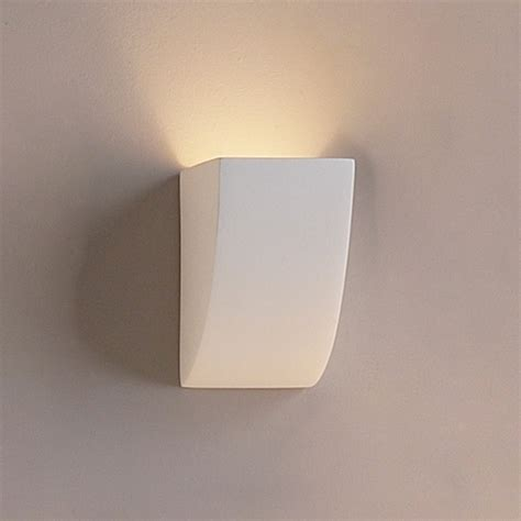 4 5 quot gently sloped modern ceramic sconce contemporary
