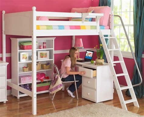 lit superpose avec bureau pour fille visuel 6