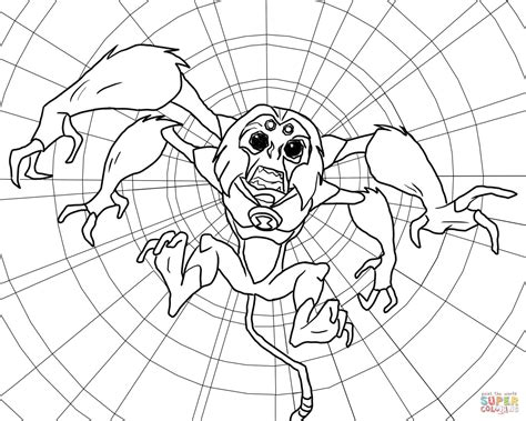 Ben 10 Goop From Alien Force Coloring Page