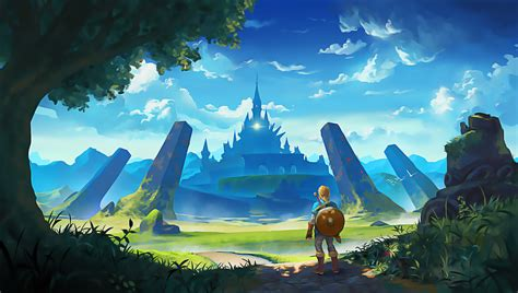103 The Legend Of Zelda Breath Of The Wild Hd Wallpapers