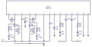 Schematic Wiring Diagram Power Amplifier Circuit