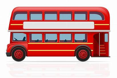 Bus London Vector Illustration Clipart System