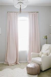 Harper39s floral whimsy nursery nursery babies and girls for Light pink and gray curtains