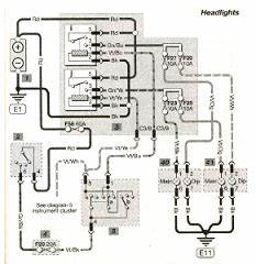 Ford Fiesta Headlights Wiring Diagram