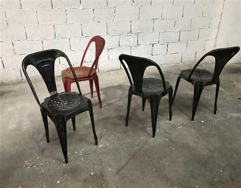 chaises originales ensemble 6 chaises multpli 39 s originales décapées et