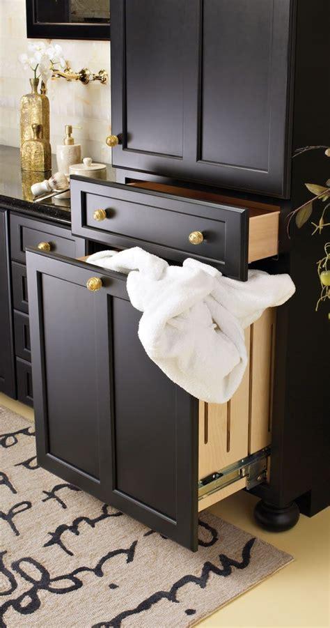 pull  hamper   dirty laundry  closed