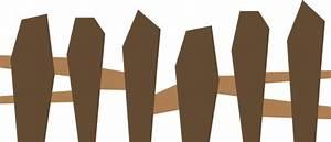 Wooden Fence Clip Art at Clker.com - vector clip art ...