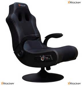 gaming chair x rocker with built in speakers wireless with vibration feature ebay