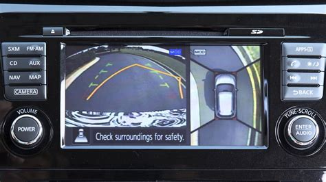nissan rogue  view monitor  moving