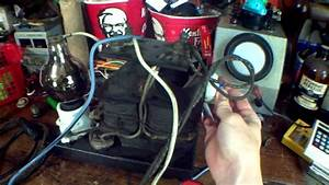 1918 Battery Charger  Tungar Tube   Mercury Arc Rectifier