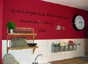 Deco Mur De Cuisine : deco mur cuisine quipement de maison ~ Zukunftsfamilie.com Idées de Décoration