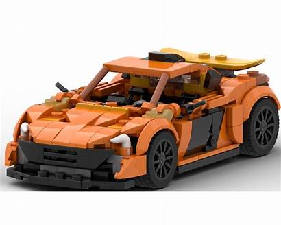 Mclaren P1 Moc Minifig Scale Lego Rebrickable