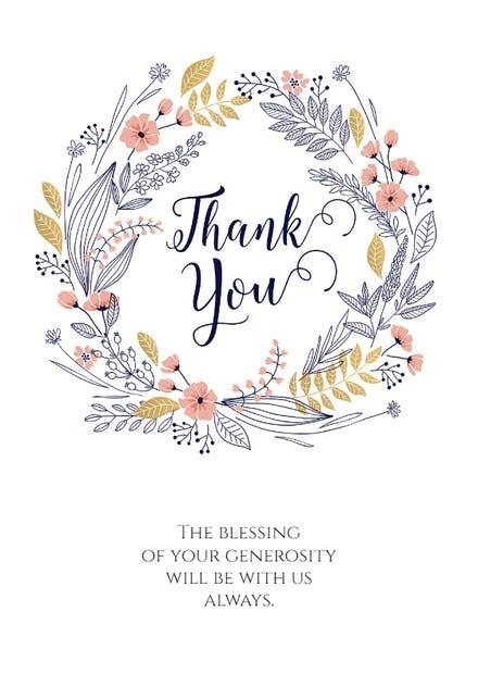 thankful   card template