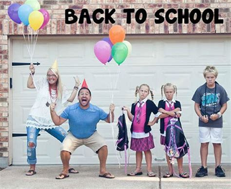 ≡ 15 Hilarious Photos of Parents Sending Their Kids Back ...
