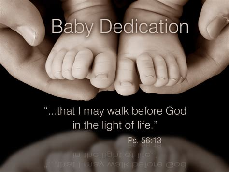 baby dedication pastoroncallnet