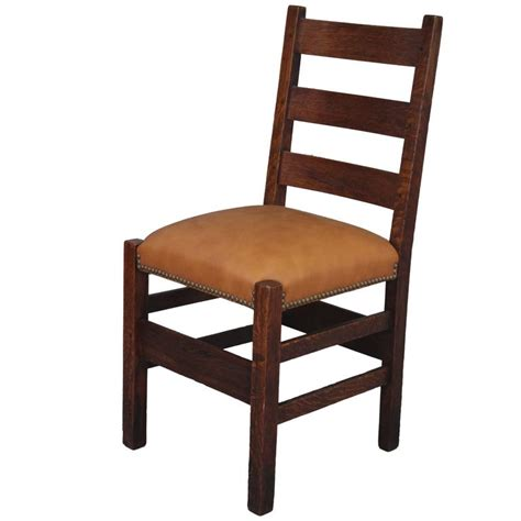 ladder back chairs for 1910 arts and crafts chair ladder back side chair for 8861