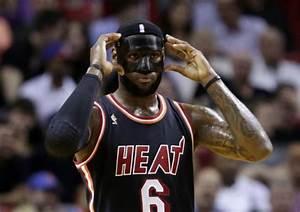 The NBA Put The Kibosh On LeBron James39 Black Mask Ball