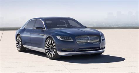 2019 Lincoln Continental Release Date And Concept