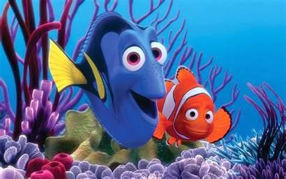 Nemo Finding Fish Ocean Underwater Animation Tropical