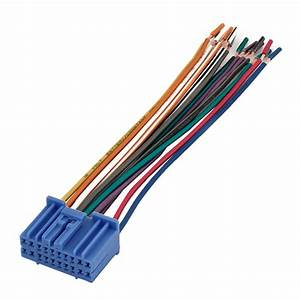 Auto Car Aftermarket Radio Wire Harness Female Connector