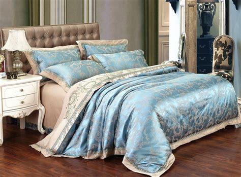 Patten Two Sky Blue Noble Super King Comforter Sets