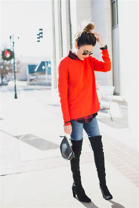 Ways Wear Your Over The Knee Boots Hello Fashion