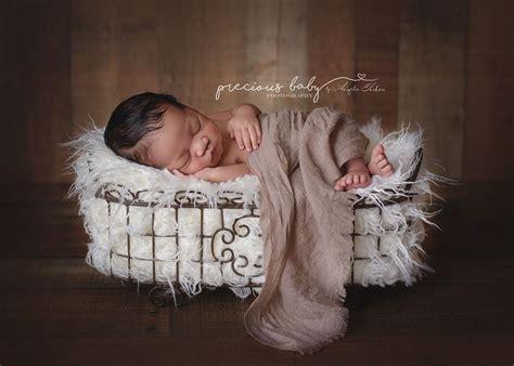 gorgeous african american baby boy sleeping  fur