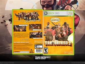 Team Fortress 2 Xbox 360 Box Art Cover By ELCrazy