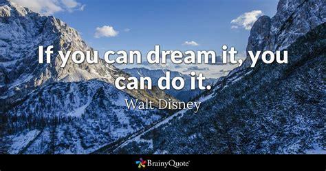 dream      walt disney