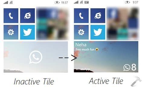 fix whatsapp tile greyed out in windows phone 8 1