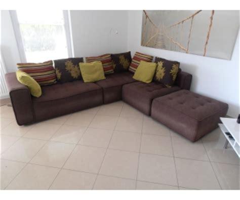 canape a vendre canapé d 39 angle tissu brun seraing à vendre