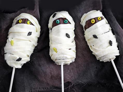 easy mummy cake pops hgtv